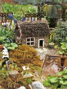 Creative And Cool Miniature Garden In The Pot Ideas Miniature Fairy Garden Accessories Uk Listed In Fabulous and Cute Mini Fairy Gardens