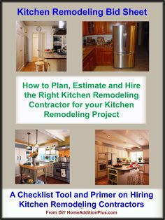 Do you know what questions to ask to ensure your hiring the right contractor for your kitchen remodeling project?  Avoid a kitchen remodeling project disaster!