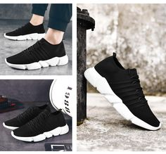 MEMIND Mens Shoes Mens Sneakers Casual Shoes Europe and America Trend Running Shoes Youth Mens One Foot Lazy Shoes Comfortable Personality Breathable Shoes