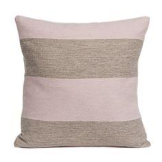 Marshall Stripe Cushion Pink