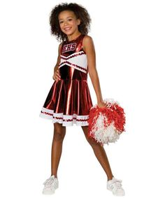 High School Musical Deluxe Cheerleader Costume-Straight from everyone's favorite musical high school, this High School Musical deluxe cheerleader costume is perfect for your musical-theatre-minded little girl this Halloween Cheerleader Halloween Costume, Halloween Costumes For Girls, Girl Costumes, Costume Ideas, Children Costumes, Dance Costumes, Cute Cheerleaders, Cheerleading Outfits, Cheer Outfits