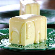 japanese cheesecake with ginger white chocolate ganache (yummy)