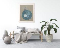Digital Prints, Taupe, Fine Art Prints, Etsy Shop, Contemporary, Bedroom, Floral, Furniture, Color