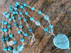 Turquoise Necklace - pinned by pin4etsy.com