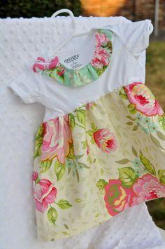 Onesie Dress  Heather Bailey fabric by SweetTweetBaby, $20.00