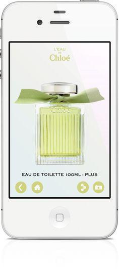 App L'eau de Chloé Mobile Application, Mobiles, Eau De Toilette, Mobile Phones