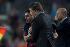 """Messi: """"Para mí, siempre eterno, Tito"""""""