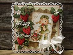 Magnolia Cards by Laura Corkill: Berry Happy Birthday