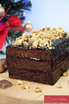 Polish Cake Recipe, Polish Recipes, Polish Food, Sweet Recipes, Cake Recipes, Food Cakes, Just Desserts, Baked Goods, Food And Drink
