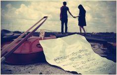 Music & Love - Love, Music, paper, Violin