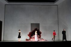 Malin Byström as Elettra, Sophie Bevan as IIia, Franco Fagioli as Idamante and Matthew Polenzani as Idomeneo in Martin Kušej's production of Idomeneo © ROH.Catherine Ashmore 2014