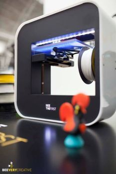Impressora 3D portuguesa nomeada para prémio internacional