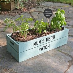 I think I can make this on my own. Some wood, nails, planting liner, soil & seeds/herbs/flowers. Paint for personalization. Will make a cute gift.