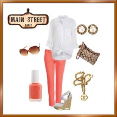Main Street Paris, created by pipeydipes on Polyvore