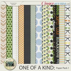 ONE OF A KIND: Paper Pack 1