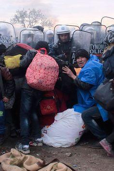 Tausende Frauen und Kinder fliehen derzeit nach Deutschland - das ist der Grund