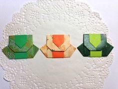 내일이 2015년의 마지막이라니...!!!2016년이 오는 것은 설레기도 하지만..한 살 더 먹는게 아쉽기도 해요.... Origami Bag, Diy And Crafts, Paper Crafts, Activities For Kids, Cube, Coasters, Traditional, Toys, Cards