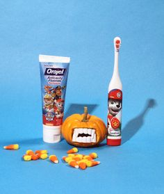 Make sure the kids brush up after trick or treating! The PAW Patrol is here to help make Halloween hygiene silly and fun.