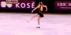 ashley wagner gif | gif set #road to sochi #happy new year #figure skating #ashley ...