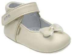 Size 12-18 months Bibi and Mimi Leather Crib Shoes//Booties Strawberry