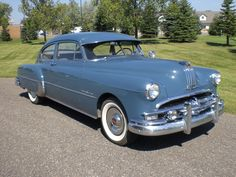 My grandpa would only drive pontiacs - this is a 1949 sedan - much like his