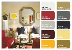 Paint colors from Chip It! by Sherwin-Williams    design by Thomas Britt
