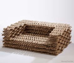 Flexible Lattice-Like Loungers - Myung Chul Kim's 'Lattice Chair' Has a Flexible Design