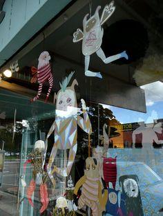 Little Paper Lane Window by benconservato