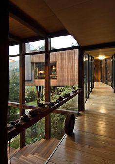 Droomhuis in beeld: Waterfall Bay House in Nieuw-Zeeland