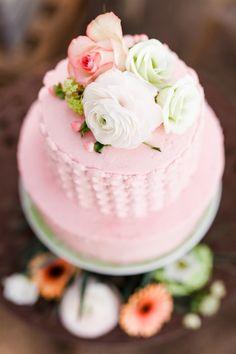 Hochzeitstorte von Tabes von Backmärchen, rosé, Pastell, traumhaft