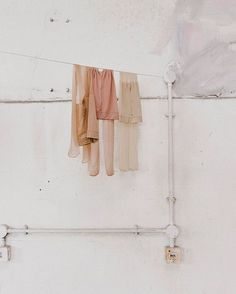 a muted palette Silk Stockings, Ivy House, Tumblr Fashion, Clothes Line, Muted Colors, Warm Colors, Color Stories, Color Of Life, Wall Collage