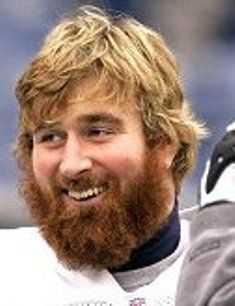 Matt Light of the New England Patriots. My Uncle has unted with and catered for The Matt Light Foundation...