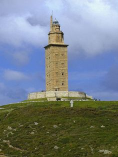 A Coruna, oldest lighthouse in the world