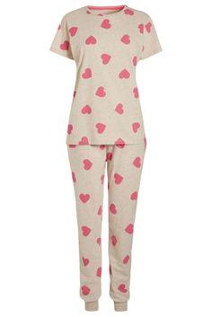 Buy Pink Heart Pyjamas from the Next UK online shop