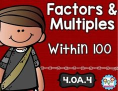 Factors and Multiples Math Tasks and Exit Tickets - Your 4th grade classroom or homeschool students are going to be able to show their mastery of factors and multiples within 100 with this 22 page resource! With purcahse you get 5 math tasks for cooperative learning, 5 exit tickets for individual assessment, and I can statements. Click through to see how this can help your fourth graders! $