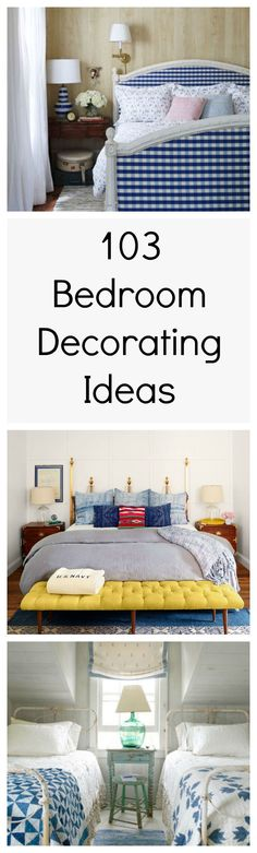 Our guide to bedroom design is jam-packed with dozens of decorating tips and tricks to help you transform your room into a cozy retreat.