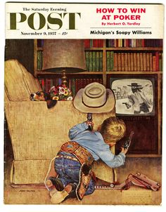 Saturday Evening Post November 9, 1957 by John Falter  (1910 - 1982) http://www.flickr.com/groups/vintagemags/pool/with/248692925/