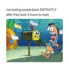 "171.2k Likes, 1,608 Comments - relatable and funny posts (@cohmedy) on Instagram: ""spongebob is a meme show"""