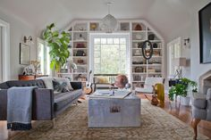 awesome built-ins framing an awesome window