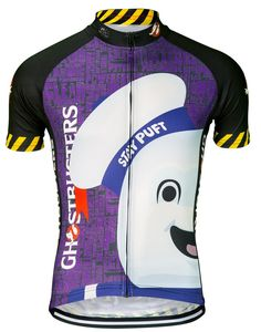 Ghostbusters Stay Puft Women s Cycling Jersey b0f7b0c6e