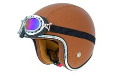 casco shiro sh-234 bad boy  marron