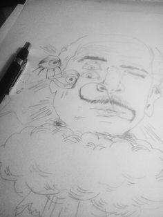 """a imaginação e o direito do homem á sua própria loucura. """"olhos - o Dali representava com frequencia  em suas obras."""