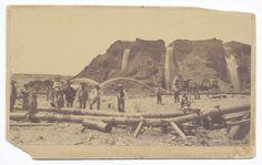 Old Hilltop Mine at Michigan Bar. ca. 1860