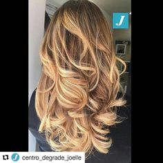 #Repost @centro_degrade_joelle with @repostapp ・・・ Unico. Inimitabile. Degradé Joelle. #cdj #degradejoelle #tagliopuntearia #degradé #igers #musthave #hair #hairstyle #haircolour #longhair #ootd #hairfashion #madeinitaly #wellastudionyc