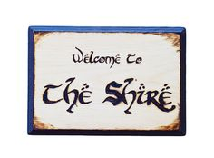 Welcome to The Shire Wood Burning - Lord of the Rings - Wood burning - Welcome to the Shire Wood burn - Pyrography - LOTR Wood burn - Shire