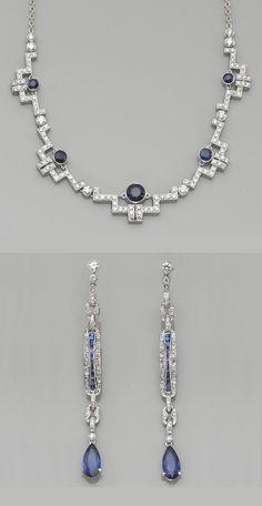 suite of sapphire, diamond