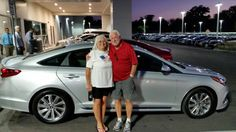 """Maurice Morin came in to purchase his brand new 2015 Hyundai Sonata with Duane Temple and this is what he had to say about his experience, """"Sales rep was pleasant, experienced, and fun to work with. Very professional and sincere, would definitely recommend him!"""" Thank you Mr. Morin, we think Duane is pretty great too! If there's anything we can do, don't hesitate to ask.. We're here to help! #HyundaiSonata #LakelandHyundai #2015Sonata #Hyundai #Lakeland #Automall"""