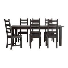 STORNÄS/KAUSTBY Stół i 6 krzeseł   - IKEA, living room