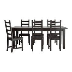 IKEA - STORNÄS / KAUSTBY, Table et 6 chaises
