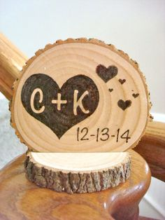 Hey, I found this really awesome Etsy listing at https://www.etsy.com/listing/202223732/personalized-rustic-wedding-cake-topper